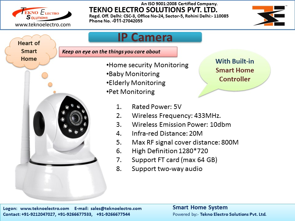 Smart home solutions for Home automation system